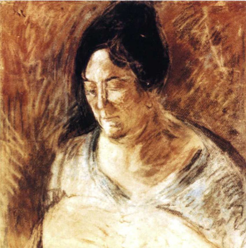 Portrait Of The By S Mother By Salvador Dali Art Reproduction from Wanford.