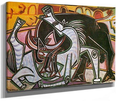Bullfight By Corrida By 7 By Pablo Picasso