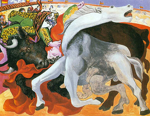 Bullfight Death Of The Toreador By Pablo Picasso