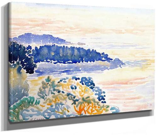 By The Sea By Henri Edmond Cross