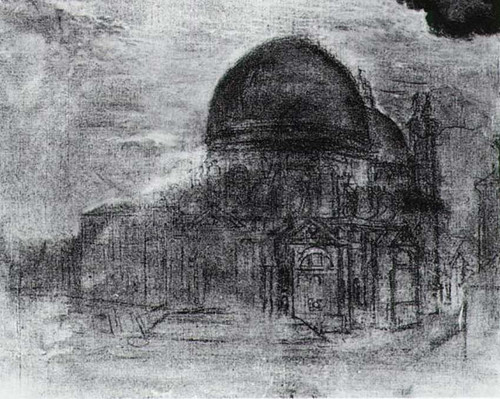 Cathedral Unfinished By Salvador Dali