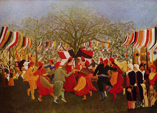 Centennial Of Independence 1892 By Henri Rousseau