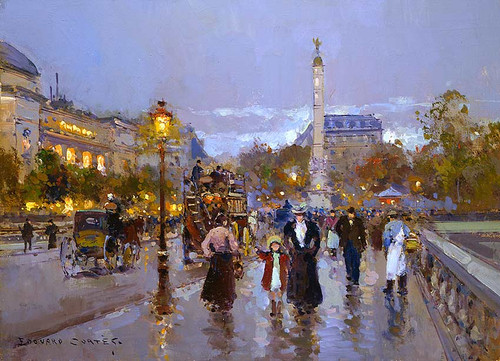 Chatelet By Edouard Cortes