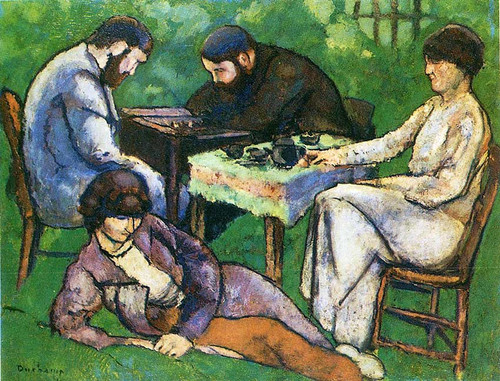 Chess Game 1910 By Duchamp Marcel