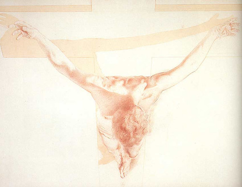 Christ In Perspective By Salvador Dali