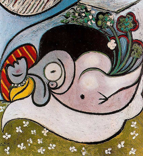 Reclining Woman 1932 1 By Pablo Picasso Art Reproduction from Wanford.