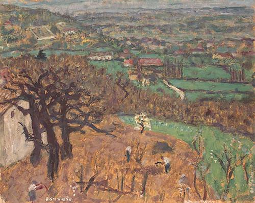Dauphine Landscape By Pierre Bonnard