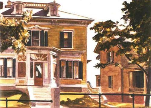 Davis House By Edward Hopper