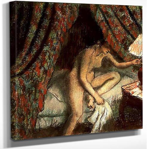 Retiring 1883 By Edgar Degas Art Reproduction from Wanford.