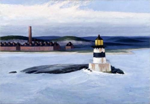 Five A M By Edward Hopper