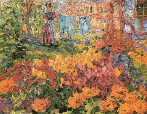 Flower Garden 1908 By Emil Nolde