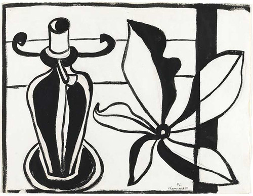 Flower Lamp 1951 By Fernand Leger