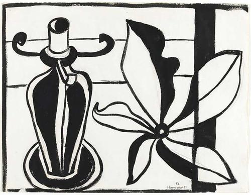 Flower Lamp 1951 By Fernand Leger
