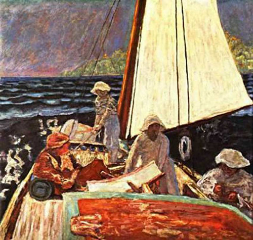 Sea Landscape 1900 By Pierre Bonnard Art Reproduction from Wanford.