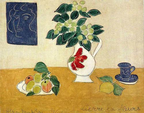 Ivy In Flower 1941 By Henri Matisse