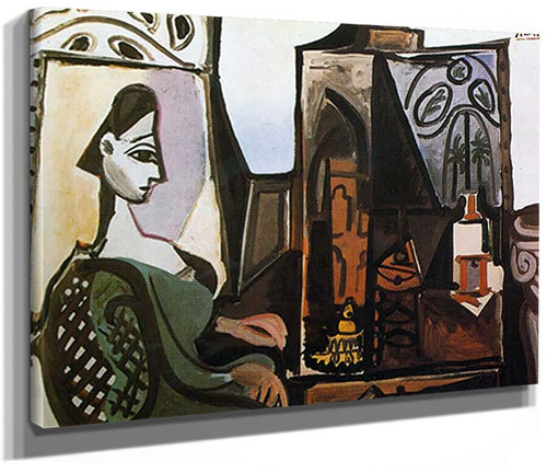 Jacqueline In The Studio By Pablo Picasso