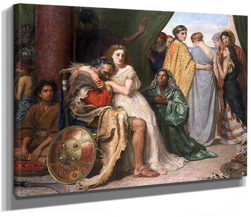 Jephthah 1867 By John Everett Millais