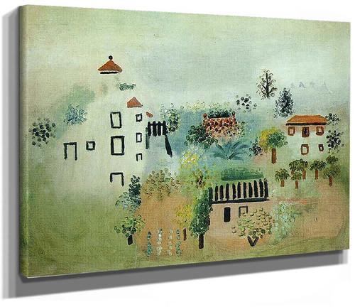 Landscape 1928 By Pablo Picasso