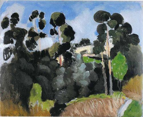 Landscape 1 By Henri Matisse