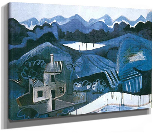 Landscape At Mougins By Pablo Picasso