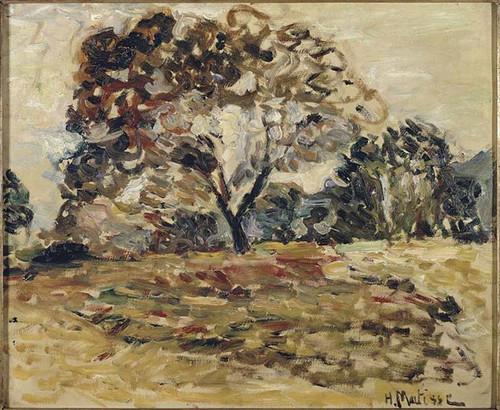 Landscape Of Corsica 1 By Henri Matisse