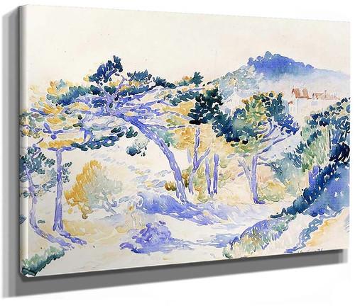 Landscape4 By Henri Edmond Cross