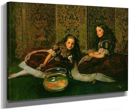 Leisure Hours By John Everett Millais