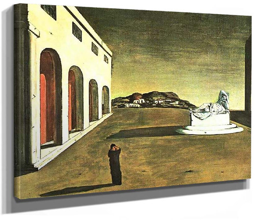 Melancholy Of A Beautiful Day 1913 By Giorgio De Chirico