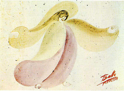 Mimicry Synoptic Costume Design For The Valle 1915 By Giacomo Balla
