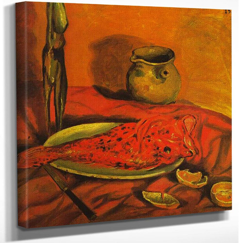 Still Life Pulpo Y Scorpa By Salvador Dali Art Reproduction from Wanford.