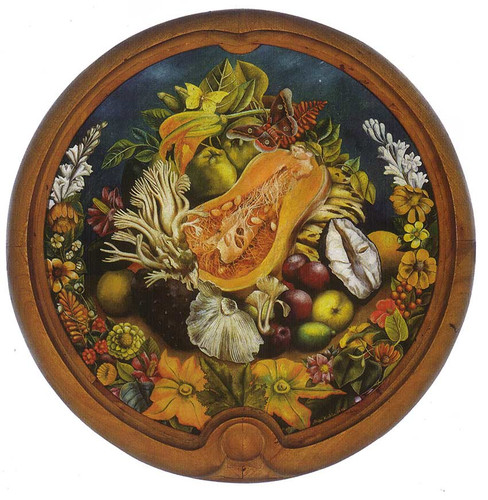 Still Life Round 1942 By Frida Kahlo Art Reproduction from Wanford.