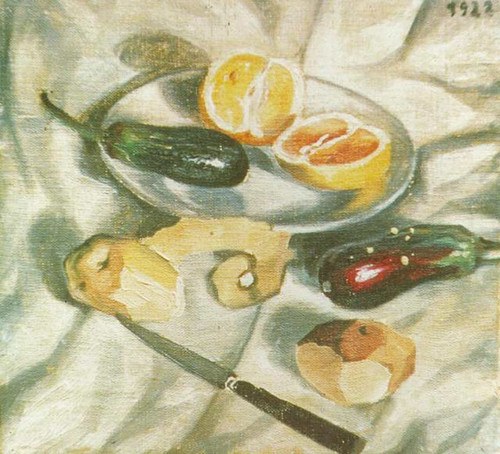 Still Life With Aubergines By Salvador Dali Art Reproduction from Wanford.