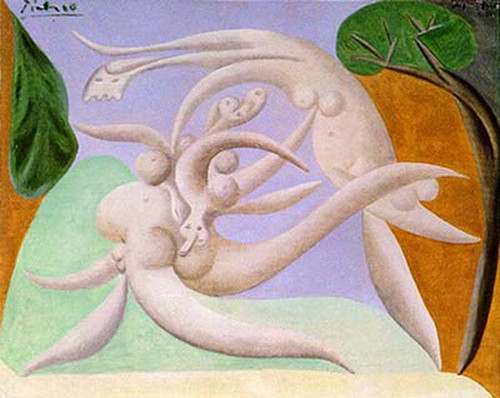Nudes 1934 By Pablo Picasso