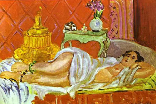 Odalisque Harmony In Red 1926 By Henri Matisse