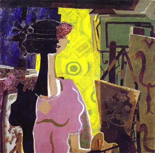 Still Life With Grapes By Georges Braque Art Reproduction from Wanford.