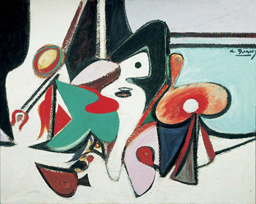Painting 1937 By Gorky Arshile