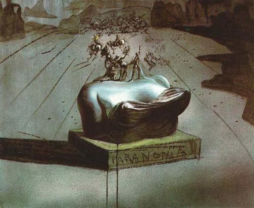 Paranonia 1936 By Salvador Dali