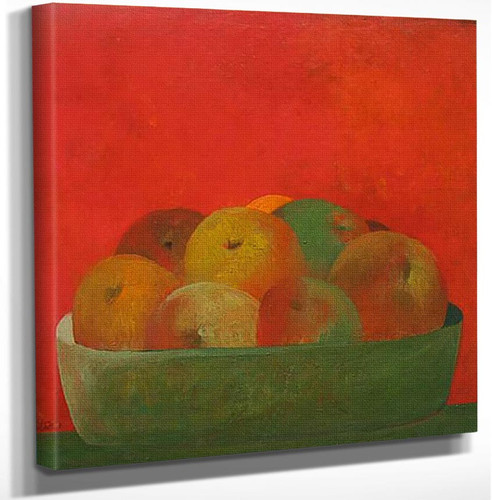 Still Life By Fernando Botero Art Reproduction from Wanford.