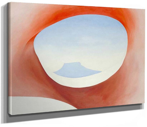 Pedernal From The Ranch I By Georgia O Keeffe