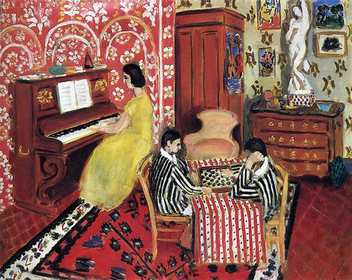 Pianist And Checker Players 1924 By Henri Matisse