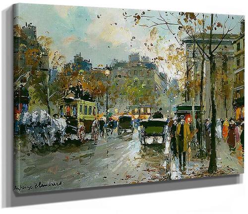 Place De La Madeleine 1 By Antoine Blanchard
