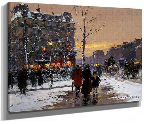 Place Pigalle By Edouard Cortes