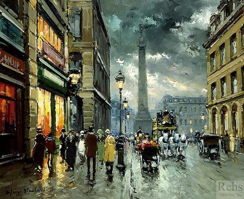 Place Vendome By Edouard Cortes