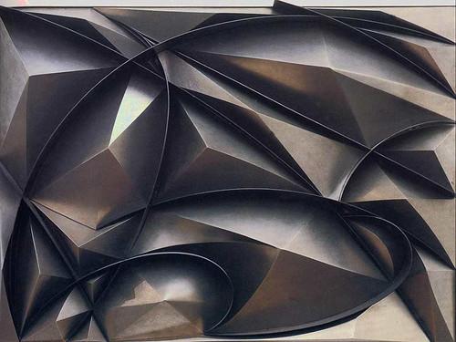 Plastic Ensemble 1915 By Giacomo Balla