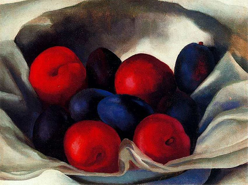 Plums By Georgia O Keeffe