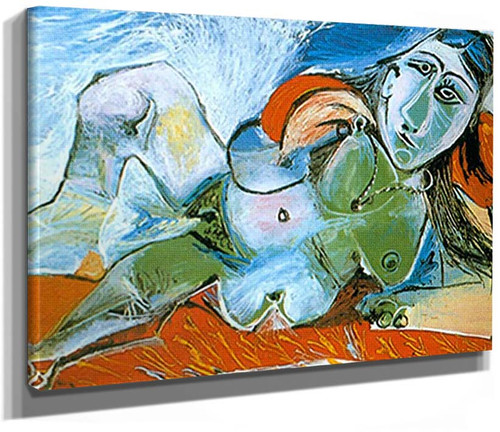 Reclining Nude With Necklace By Pablo Picasso