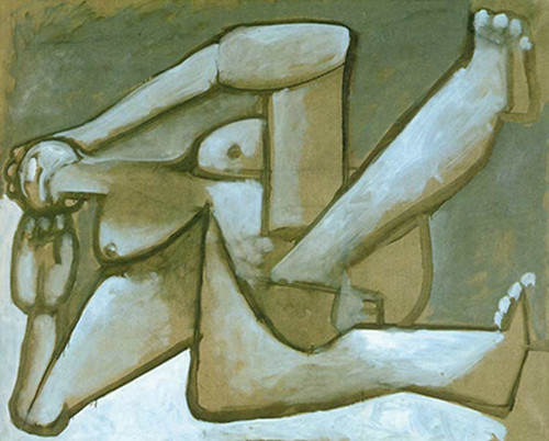 Reclining Woman By Pablo Picasso