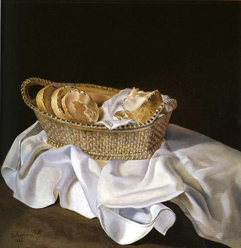 The Basket Of Bread By Salvador Dali Art Reproduction from Wanford.