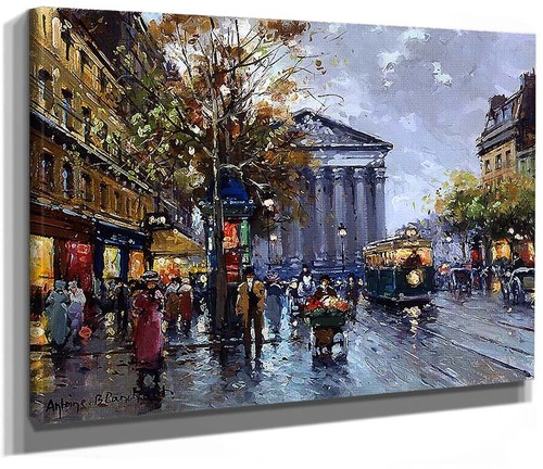 Rue Royal Madeleine 2 By Antoine Blanchard
