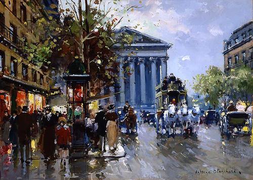 Rue Royal Madeleine 4 By Antoine Blanchard